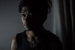 Night epifany (The Crane Dance) Tags: boy portrait people black guy dark 50mm skin 18 nikond3100