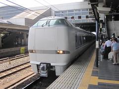 Thunderbird - Platform 0 at Kyoto Railway Station (Big Brisbane Boy) Tags: japan train kyoto platform rail thunderbird railways zero