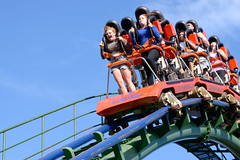 SkyRider ([jonrev]) Tags: park trip vacation toronto ontario canada amusement ride fair cedar roller theme wonderland coaster vaughan canadas