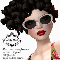 Petite Mort- Monroe Mother of Pearl Glasses (Petite Mort- Outfitting the modern bohemian) Tags: life sunglasses fashion vintage glasses sale mort style sl wash second accessories cart petite petitemort
