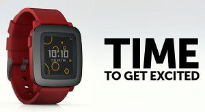 Upgraded Pebble Time watch drops on Kickstarter with color e-paper display