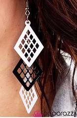5th Avenue White Earrings K2 P5611-5