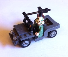 Willys Jeep (tyfighter07) Tags: lego jeep wwii willys brickbuilder7