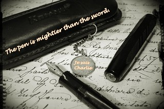 The pen is mightier than the sword - Je suis Charlie