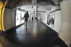 (c'estlavie!) Tags: underground subway nikon metro métro perspective fisheye métroparisien greatphotographers nikonstunninggallery nikonflickraward jesuisparis