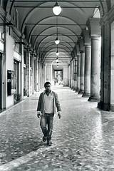 Piazza Vittorio (Livio De Mia) Tags: camera roma classic film paper nikon kodak fb 11 d76 piazza f80 portici ilford vittorio analogic trix400 baryt baritata