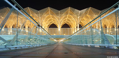 Lisboa (Red Cathedral [FB theRealRedCathedral ]) Tags: portugal nightshot gare cosplay lisboa lisbon trainstation 1998 oriente larp lisbonne expo98 vascodagama redcathedral parquedasnaçoes parkofthenations eventcoverage aztektv universalexpo parqueexop98