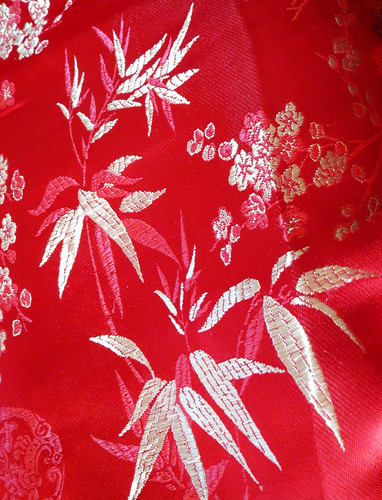 Free Photo: Red Chinese Bamboo Background Pattern