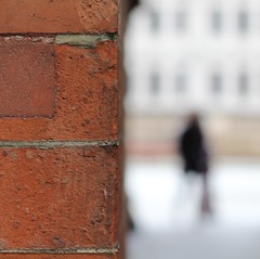 The Arrival (No Great Hurry) Tags: brickwork brick mortar stpancras london bokeh dof ngh robinmauricebarr amateur amateurphotographer robinmauricebarralsoknownasnogreathurry art photoart capital uk britain gb greatbritain lndn england square squared cube robinbarr photo image photographic 1000views 1000 squareformat exposure flickr focus depthoffield unitedkingdom nogreathurry