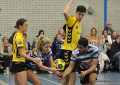 BW_Dalto_150207_44_DSC_6014 (RV_61, pics are all rights reserved) Tags: amsterdam korfbal blauwwit dalto korfballeague robvisser rvpics blauwwithal