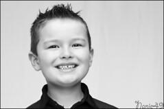 Gaetan. (nanie49) Tags: portrait france childhood kid nikon child retrato nb bn enfant infancia nio kindheit bambino enfance  infanzia d7000 nanie49