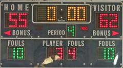 D119573P (RobHelfman) Tags: sports basketball losangeles highschool taft scoreboard crenshaw