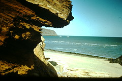California Coast- c 1950 (2) (foundslides) Tags: old vintage john photography pix pics retro oldphoto kodachrome oldpictures slides foundslides oldphotos rudd redborder johnrudd irmalouiserudd johnhrudd