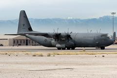 A97-465 (buzz100ca) Tags: red airplane force martin flag aircraft aviation military air united nevada transport australian royal cargo states lockheed base raaf c130 151 afb nellis c130j lsv klsv