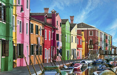 Burano (Fil.ippo (AWAY)) Tags: travel venice houses italy color water boat nikon italia ship colore barche adventure townscape acqua venezia filippo burano d7000 filippobianchi