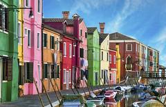 Burano (Fil.ippo) Tags: travel venice houses italy color water boat nikon italia ship colore barche adventure townscape acqua venezia filippo burano d7000 filippobianchi