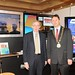 Showtel  Liam O'Brien, Aertec and Stephen McNally, IHF President