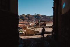 Cusco Streets (peteskiphoto) Tags: city streets peru silhouette cuzco cusco