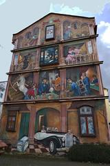 P1010275c - Wer träumen kann ist der größte Realist (JB Fotofan) Tags: streetart facade lumix mural colorful frankfurt haus panasonic bornheim bunt wandbild fassade hauswand gemälde fz1000