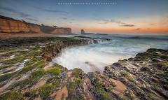Chiseled by the ocean (hazarika) Tags: sunset 4milebeach wilderranchstatepark canon1635mmf28liiusm canon5dmarkiii