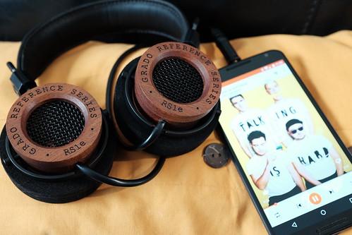 Grado Labs RS1e and Google Motorola Nexus 6