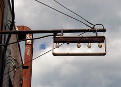 new bulb required (f o t o o r a n g e) Tags: toronto sortof bloorstreetwest backlitsign