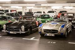 Mercedes W198 300SL Gullwing  & SLS300 (aguswiss1) Tags: racecar mercedes benz mercedesbenz million parked cruiser supercar carshow sls racer 300sl gullwing passione w198 sl300 300sls sls300 mercedesw198300slgullwingsls300