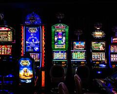 Luck (Allison Mickel) Tags: nikon d7000 adobe lightroom edited reno nevada casino gambling slot machines lights neon