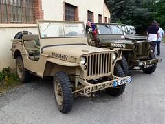 Willys, truck 1/4 ton 4x4 (Willys MB) (tats-Unis) (Cletus Awreetus) Tags: jeep 4x4 vhiculetoutterrain automobileancienne voituredecollection vhiculemilitaire automobile vintage militaria willys mb voiture collection