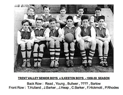 Trent Valley Boys Under 15s - 1958-59 (qay73xse) Tags: trentvalley football littleover ashbourne 1958 1959