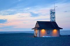 Toronto 5 (euanwhite) Tags: beach lifeguard lake toronto dusk sunset