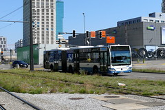 Mercedes Citaro 421 (V-Foto-Zrich) Tags: bus mercedes zrich autobus vbz gelenkbus verkehrsbetriebe citaro zrilinie