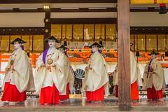 Hanagasa Junk Parade, Gion Matsuri 2015. (KyotoDreamTrips) Tags: gionmatsuri hanagasajunk japan kabukiodori kyoto pontoch yasakashrine maiko