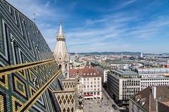 Das Zentrum von Wien - The vienna city center (ralfkai41) Tags: stephansdom sterreich church panorama austria roof stadt dach vienna city kirche wien