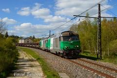 17-05-16 BB 67453 - 67460 & N436503 Neussargues St chly (vincent037) Tags: saint rail marchandise coils clermont desserte causses chly bb67400 neussargues