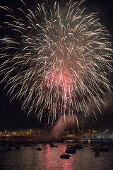 20160701_0387_1 (Bruce McPherson) Tags: brucemcphersonphotography canadaday canadadayfireworks fireworks stanleypark coalharbour vancouverharbour dusk night lowlight outdoor summer mixedweather vancouver bc canada
