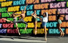 riot (greenelent) Tags: dance coneyisland brooklyn nyc people 365 photoaday
