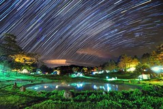 Fushoushan Farm , (Vincent_Ting) Tags:            maple maples     taiwan formosa autumn  nikon nature water sky   cosmos vincentting  blussky clouds  galaxy milkyway startrails
