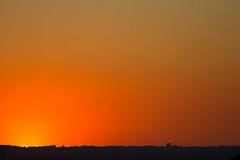 Not a cloud to be seen (ArtGordon1) Tags: sunset summer 2016 evening orange sky silhouette silhouettes davegordon davidgordon daveartgordon daveagordon davidagordon artgordon1