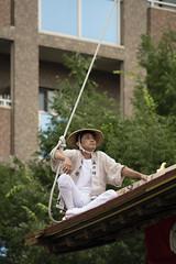 Yanekata  (Patrick Vierthaler) Tags: festival japan japanese kyoto first  oike   gion float matsuri naginata 2016  hoko shinmachi boko      naginataboko
