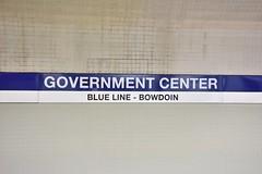 DSC_1529 (billonthehill2001) Tags: boston subway mbta governmentcenter greenline blueline