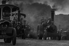 Rush Hour 1900's style. (Mr Woodstock) Tags: smoke grey traction engine steam tractor roller industry preseved aveling porter coal fired grime soot restored restoration 1900s uk great britain england allerton yorkshire