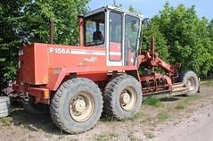 O&K F 156K (Vehicle Tim) Tags: baumaschine bau ok grader machinery fahrzeug