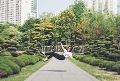 Levitate (Clarissaacindy) Tags: levitate levitation photoshop building scenery