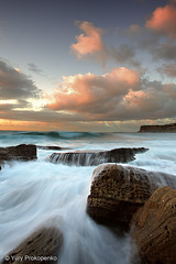 Rush! (renatonovi1) Tags: water wave rush ocean sea sky clouds rocks beach canon sydney australia northernbeaches bunganbeach nsw landscape seascepe nature