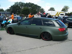 Audi A6 Avant C6 (911gt2rs) Tags: treffen meeting show tuning kombi wagon tief low stance airride rotiform militr military oliv feldjger s6