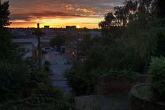A High Street Sunset, Walsall 29/07/2016 (Gary S. Crutchley) Tags: sunset uk great britain england united kingdom urban town townscape walsall walsallflickr walsallweb black country blackcountry staffordshire staffs west midlands westmidlands nikon d800 evening raw 1635mm f40g af s ed nikkor st matthews church high street