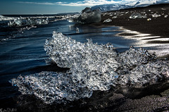 Crystal Blue Persuasion* (Bill Bowman) Tags: jkulsrln icebergs ice blacksandbeach iceland sland jkulsrlnbeach