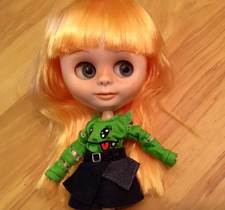 My first OOAK Blyh doll