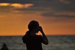 Sommarnöje, att fånga solnedgången. (lena.fredin) Tags: sommarnoje fs160828 fotosondag